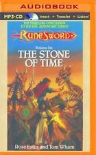 RuneSword: The Stone of Time 6 by Rose Estes and Tom Wham (2015, MP3 CD,...