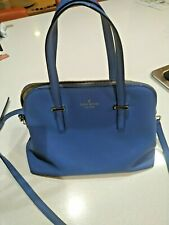 Kate Spade Cedar Street Maise Crossbody Bag Navy Pre-Owned Leather Blue