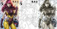 WEAPONS OF MUTANT DESTRUCTION #1 ARTGERM 3 PACK VARIANT SET MARY JANE WOLVERINE