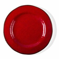 "TAG 11"" Veranda Red Melamine Dinner Plate, Set of 4 (206405)"