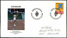 Denmark 1984 Olympic Games FDC First Day Cover #C40906