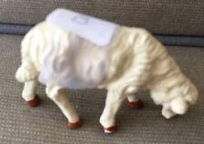Nativity Creche Figurine Vintage Christmas Animal Plaster Ceramic Sheep Italy #B