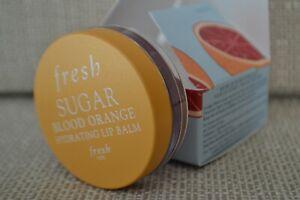 BNIB Fresh Sugar Blood Orange Hydrating Lip Balm tinted 6g RRP £15