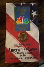 VHS 9b Atlanta 1996 America's Games Greatest Moments Centennial Summer Olympics