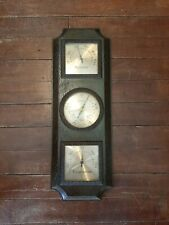 Vintage Taylor  Instruments Weather Station Humidity Temperature Barometer USA