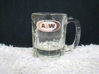 "A&W Root Beer Mug/Drinking Glass 4.25"" High, Collectible Home/Barware Decor"