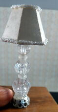 BEAUTIFUL Vintage Wired Lamp 1:12 Dollhouse Miniature