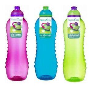 Sistema Twist n Sip Drink Water Bottle Various Sizes And Colours BPA free