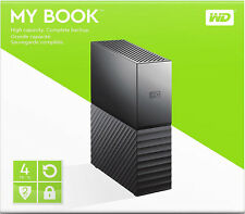 WD WESTERN DIGITAL MY BOOK 4TB HIGH CAPACITY 3.0 *Brand New & Factory Sealed*