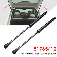 2 x Rear Tailgate Boot Gas Struts Support Holder 51785412 For Fiat 500 500L  !