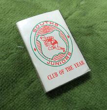 #D249.  SOUTH  SYDNEY  JUNIORS  RUGBY LEAGUE  MATCHBOX