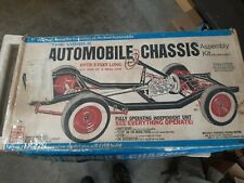 RENWAL Model Kit The Visible Automobile Chassis Kit No. 813 MISSING PARTS