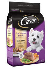 NEW Cesar Small Breed Dry Dog Food, All Flavors 5 lb Free Shipping
