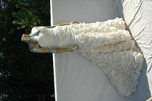 Alfred Angelo Wedding Gown, Cream size 0 to 2