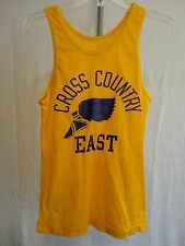 VINTAGE  JERSEY east SCHOOL TSHIRT T-SHIRT CHAMPION TANK TOP SMALL cross country