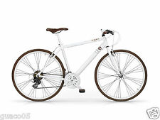 Mbm Life - bicicletta Città 28'' 21s Uomo Bianco 58 cm 530u/15/white/h58
