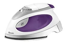Swan SI3070N Travel Iron With Pouch of 100ml 900 W/1100 W Ironing Travel Holiday