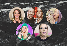 Set of 5 Jenna Marbles Pinback Buttons