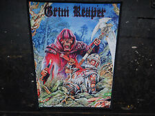 Grim Reaper Patch Heavy Metal New-Wave-of-British-Heavy-Metal Onslaught Satan