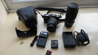 Panasonic LUMIX DMC-GF3K 12.1MP Digital Camera - Black (Kit w/ ASPH 14-42mm Lens