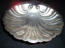 Sterling Silver Shell Shaped Bowl 7.6oz