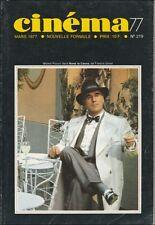 Cinéma77 N° 219/1977 - Straub-Huillet Raymond Bussières Dirk Bogarde René Feret