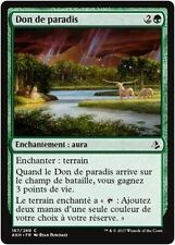 MTG Magic AKH - (x4) Gift of Paradise/Don de paradis, French/VF