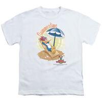 Woody Woodpecker HA HA HA LAUGH IT UP Licensed BOYS /& GIRLS T-Shirt S-XL