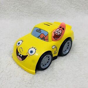 Fisher Price Spongebob & Patrick Shake N Go Race Car 2012 Tested & Works