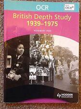OCR British Depth Study 1939-1975 (OCR Modular Hist..., Rees, Rosemary Paperback