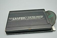 Graflex Graphic Film Pack Adapter No. 1234 with Dark Slide for Film or Wet Plate