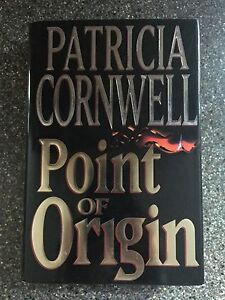 Point of Origin by Patricia Cornwell (1998, Hardcover)
