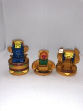 Vintage 1988 McDonalds Happy Meal Toy Robot Changeables Transformers Burgers