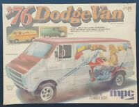 MPC 76 Dodge Van 1/25 Model Kit # 1-7622 NEW / FACTORY SEALED