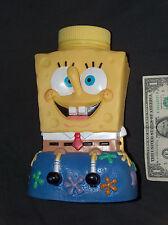2002 SpongeBob SquarePants Universal Studios Viacom Drinking Cup Figure No Straw
