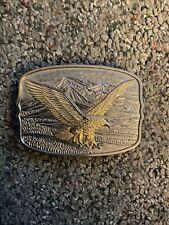 Belt Buckle Large American Eagle