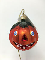 Christopher Radko JUNIOR JACK Halloween Pumpkin ORNAMENT 98-169-0 3 inches