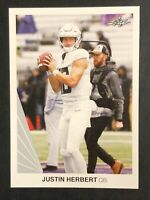 2020 Leaf Retail # 03 Justin Herbert RC Chargers Rookie Card - RARE SSP