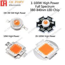 Full Spectrum 380 840nm 1w 3w 5w 10w 20w 30w 50w 100w High Power Led Chip Lights