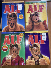ALF THE COMPLETE SERIES SEASONS 1 2 3 4 DVD 16 DISCS TV COMEDY 1,3,4 New, 2 VG