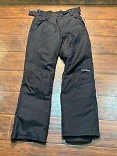 EUC OUTDOOR GEAR Men's Black Ski Pants Snow Winter Sports Size SMALL