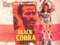Black Cobra Fred Williamson 1987 Blaxploitation Action Film VHS Mack Video 1998