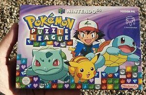 Pokemon Puzzle League Nintendo 64 NEUF NEW