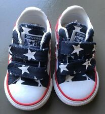 Converse Infant Size 3 Star Player Varsity Red/ White/ Navy