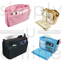 Women Travel Insert Handbag Organiser Purse Large liner Organizer Tidy