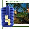 17-100FT Expandable Water Hose Heavy Duty Flexible Outdoor Garden Spray Nozzle