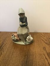 Lladro Figurine Retired Duck Seller #1267