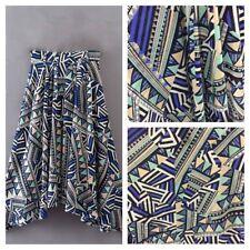 géométrique imprimé DIY tissu matière synthétique opacité robe jupe