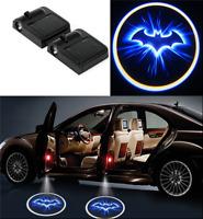 2PC Wireless Logo 3D Batman Car Door LED Welcome Projector Ghost Shadow Light