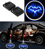 4PC Wireless Logo 3D Batman Car Door LED Welcome Projector Ghost Shadow Light